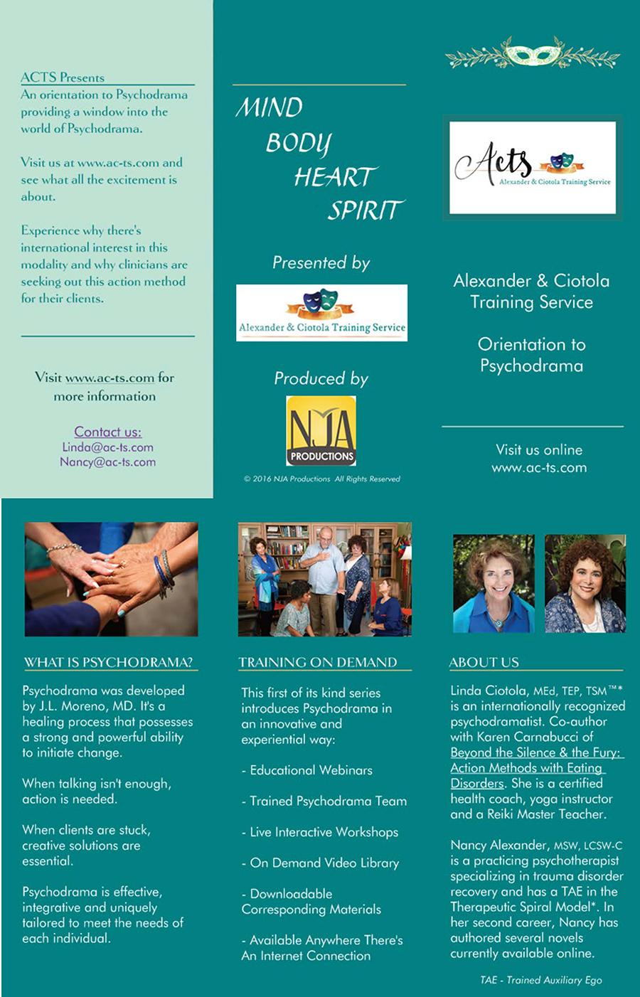ACTS Training Services - Alexander & Ciotola Traing Serivces