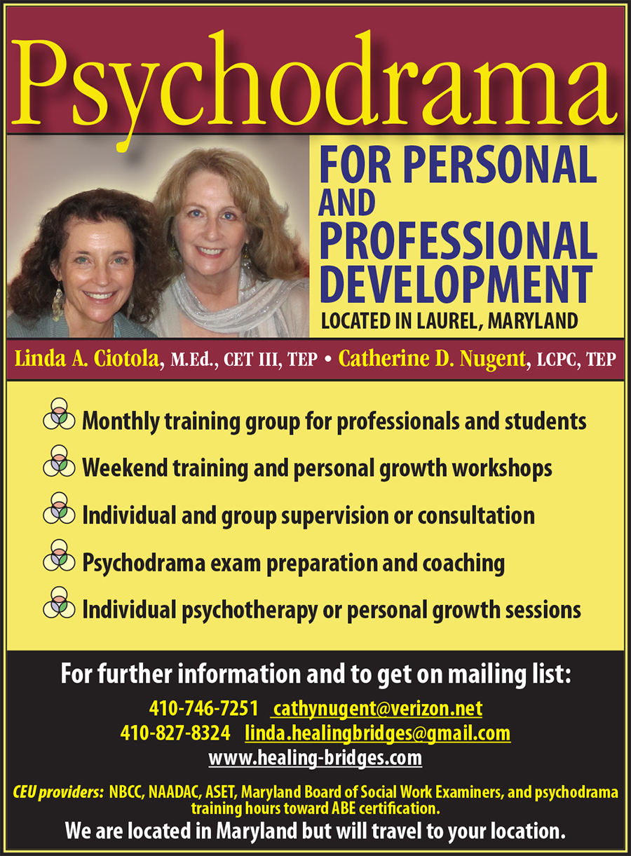 Psychodrama for Personal and Professional Development